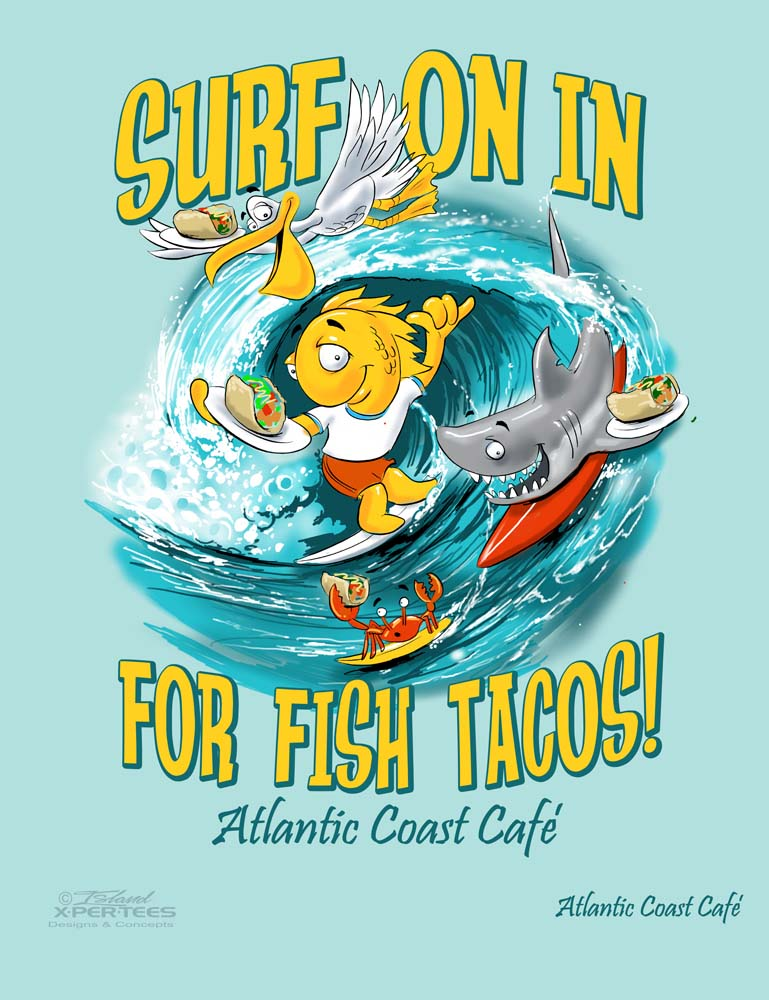 Atlantic Coast Cafe - Surf on In