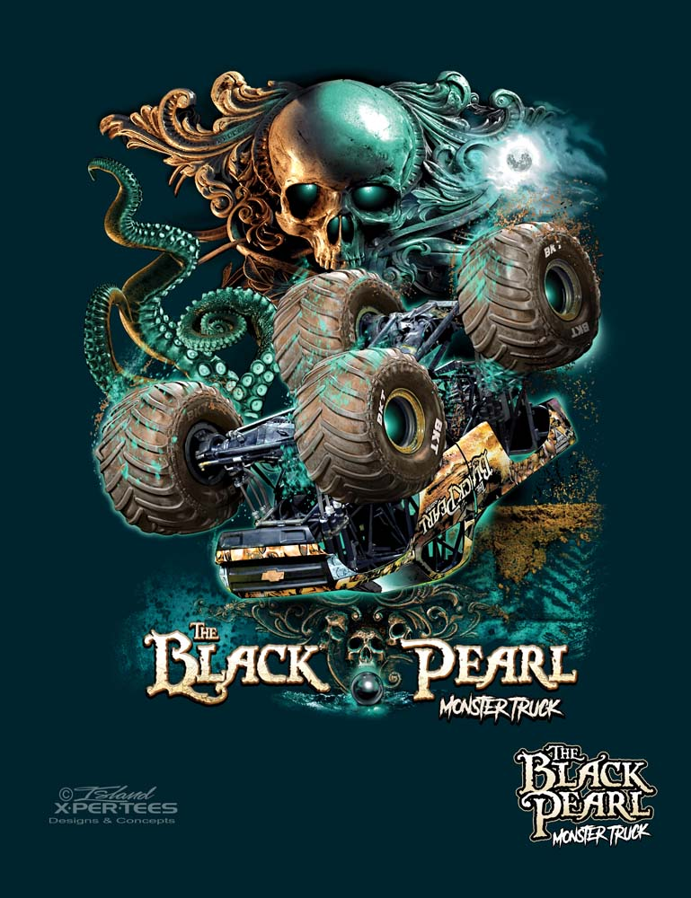 The Black Pearl Monster Truck