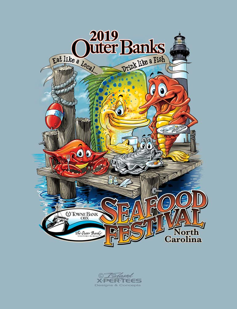 OBX Seafood Festival T-shirt