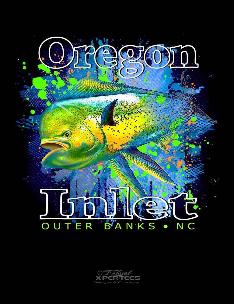 Oregon Inlet Mahi Tee